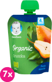 7x GERBER Organic Deserek Gruszka 4m+ (90 g)
