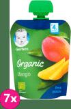 7x GERBER Organic Deserek Mango 4m+ (90 g)