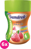 6x SUNÁREK Malinový rozpustný nápoj - dóza (200 g)