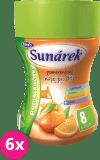 6x SUNÁREK rozpustný nápoj pomerančový - dóza 200g