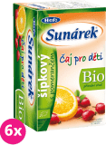 6x SUNÁREK BIO detský čaj Šípkový s pomarančom (20x1,5 g)
