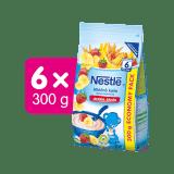 6x NESTLÉ Mléčná kaše Banán Jahoda 300 g