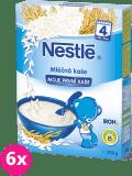 6x NESTLÉ Moje první kaše (250 g) - mléčná kaše rýžová