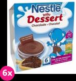 6x NESTLÉ Baby Dessert kakaový (4x100 g)