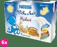 6x NESTLÉ Medové mlíčko s kaší (2x200 ml)