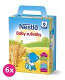 6x NESTLÉ Baby sušenky (180 g)