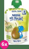 6x NESTLÉ Bio ovocná kapsička - Hruška (90 g)