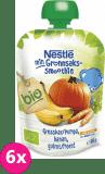 6x NESTLÉ Bio ovocná kapsička - tekvica-banán-mrkva (90 g)