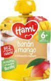 HAMI Banán a mango s kokosovým mliekom (90 g) - ovocná kapsička