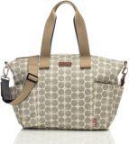 BABYMEL Přebalovací taška Evie Floral Dot Grey