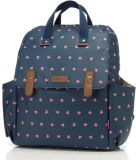 BABYMEL Prebaľovacia taška/batoh s podložkou Robyn Backpack Origami Heart