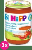 3x HIPP BIO Paradajková polievka s kuracím mäsom (190 g)