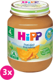 3x HIPP BIO Prvá tekvica 125 g - zeleninový príkrm