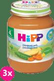 3x HIPP BIO Zeleninová zmes 125 g - zeleninový príkrm