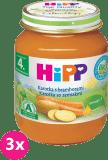 3x HIPP BIO karotka s brambory (125 g) - zeleninový příkrm