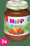 3x HIPP jablkový s lesními plody (125 g) - ovocný příkrm