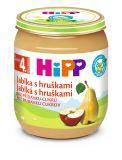 3x HIPP BIO Jablka s hruškami (125 g) - ovocný příkrm