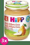 3x HIPP hruškový Williams-Christ (125 g) - ovocný příkrm