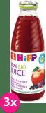 3x HIPP šťáva z červených plodů (500 ml)