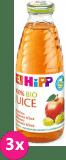 3x HIPP BIO šťáva jablečno - hroznová (500 ml)