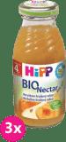 3x HIPP BIO meruňkovo-hruškový nektar (200 ml)