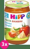 3x HIPP BIO PASTA BAMBINI Zeleninové lasagne, 220 g - zeleninový příkrm