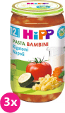 3x HIPP BIO PASTA BAMBINI Rigatoni Neapol, 250 g - zeleninový příkrm