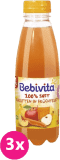 3x BEBIVITA Mrkvovo-ovocná šťava (500 ml)