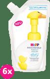 6x HIPP Babysanft Pěna na mytí - náhradní náplň (250 ml)
