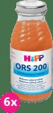 6x HIPP ORS 200 Mrkvovo rýžový odvar 200ml