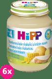 6x HIPP BIO Bramborové pyré s kukuřicí a krůtím masem (125 g) - maso-zeleninový příkrm