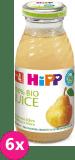 6x HIPP BIO Hrušková šťáva (200 ml)