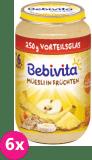 6x BEBIVITA Müsli s ovocem 250 g – ovocný příkrm