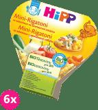 6x HIPP BIO Mini Rigatoni so zeleninou v smotanovej omáčke 250g