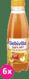 6x BEBIVITA Mrkvovo-ovocná šťáva (500 ml)