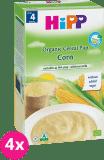 4x HIPP Obilná kaša kukuričná (200 g) - nemliečna kaša