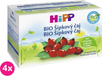 4x HiPP BIO Šípkový čaj 40 g