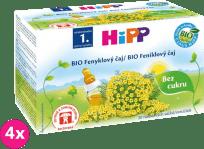 4x HIPP BIO Feniklový čaj 20x 1,5 g