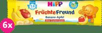 6x HIPP BIO Tyčinka banán-jablko 25 g