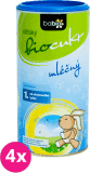 4x BABIO Dětský BIO mléčný cukr 180 g