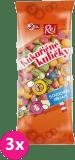 3x REJ Kukuřičné kuličky s ovocnou příchutí
