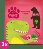 3x BEAR Želé tlapky, Dino 20 g
