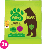 3x BEAR Želé tlapky, Jungle 20 g