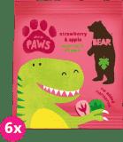 6x BEAR Želé tlapky, Dino 20 g