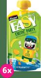 6x HAMÁNEK Easyfruit Exotic Party banán + mango (110 g) – ovocná kapsička