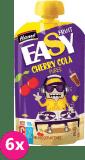 6x HAMÁNEK Easyfruit Cherry cola pyré (110 g) – ovocná kapsička