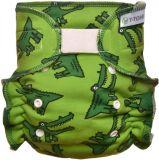 T-TOMI Nohavičková plienka - prebaľovacia súprava suchý zips, crocodiles