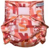 T-TOMI Nohavičková plienka - prebaľovacia súprava suchý zips, pink Alphabet