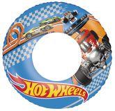 BESTWAY Nafukovací kruh Hot Wheels, priemer 56 cm