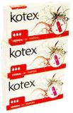 KOTEX® Tampony Normal triple pack (16x3 ks)